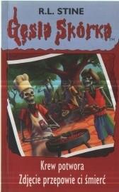 Okładka książki Krew potwora. Zdjęcie przepowie ci śmierć.