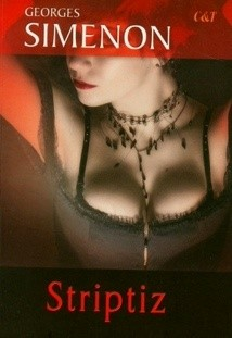 Okładka książki Striptiz