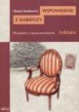 Okładka książki Wspomnienie z Maripozy