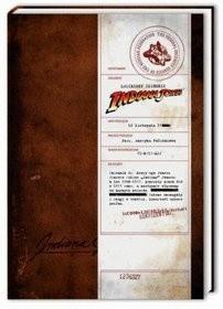 Okładka książki Zaginiony dziennik Indiany Jonesa