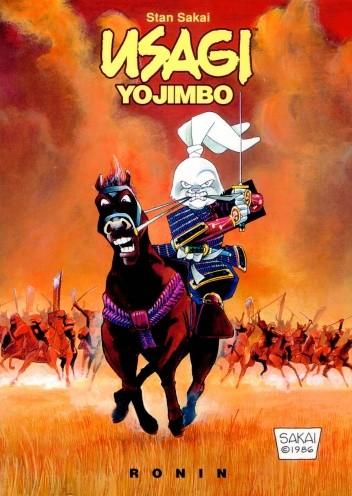 Okładka książki Usagi Yojimbo. Ronin