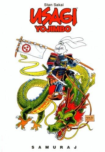Okładka książki Usagi Yojimbo. Samuraj