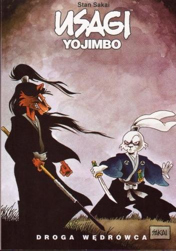 Okładka książki Usagi Yojimbo. Droga wędrowca