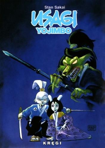 Okładka książki Usagi Yojimbo. Kręgi