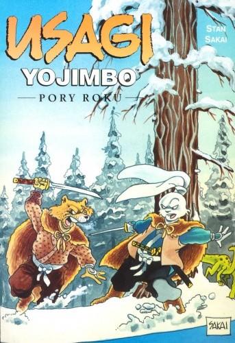 Okładka książki Usagi Yojimbo: Pory roku