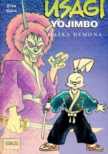 Okładka książki Usagi Yojimbo: Maska demona