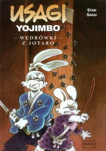 Okładka książki Usagi Yojimbo. Wędrówki z Jotaro