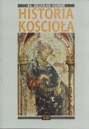 Okładka książki Historia Kościoła. Tom VIII: czasy współczesne 1914-1992