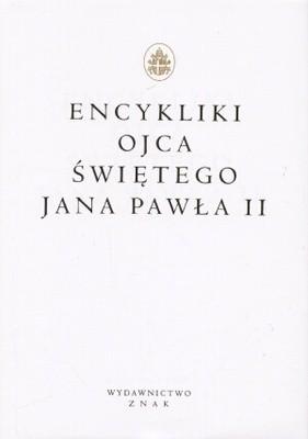 Okładka książki Encykliki Ojca Świętego Jana Pawła II