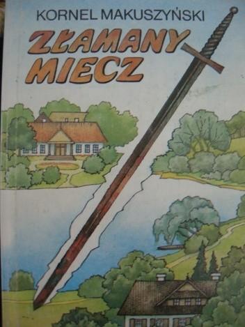 Okładka książki Złamany miecz