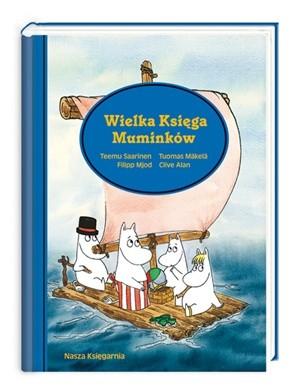Okładka książki Wielka Księga Muminków