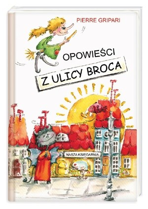 Okładka książki Opowieści z ulicy Broca