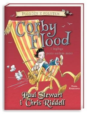 Okładka książki Corby Flood i żegluga przez siedem mórz