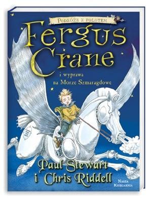 Okładka książki Fergus Crane i wyprawa na Morze Szmaragdowe