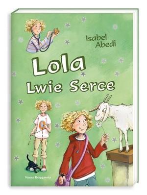 Okładka książki Lola Lwie Serce