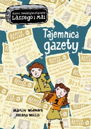 Okładka książki Tajemnica gazety