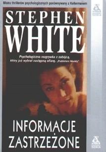 Okładka książki Informacje zastrzeżone