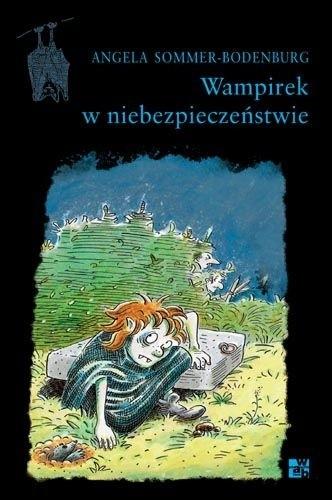 Okładka książki Wampirek w niebezpieczeństwie