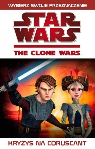 Okładka książki Gwiezdne wojny. Wojny klonów: Kryzys na Coruscant