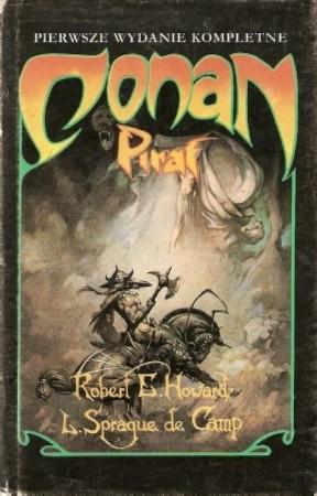Okładka książki Conan pirat