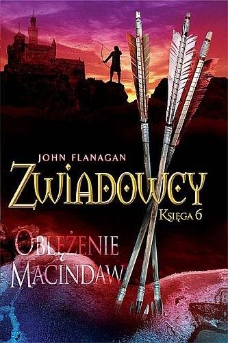 Okładka książki Zwiadowcy. Oblężenie Macindaw