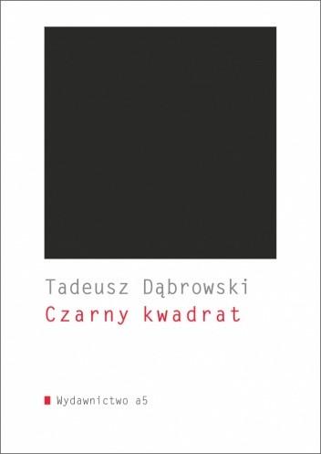 Okładka książki Czarny kwadrat