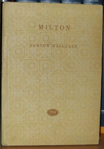 Okładka książki Samson walczący