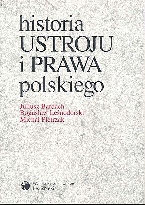 Okładka książki Historia ustroju i prawa polskiego