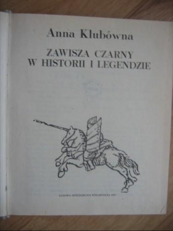 Okładka książki Zawisza Czarny w historii i legendzie