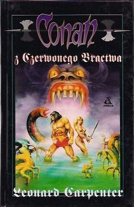 Okładka książki Conan z Czerwonego Bractwa