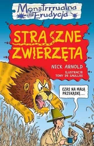 Okładka książki Straszne zwierzęta