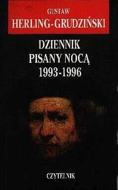 Okładka książki Dziennik pisany nocą 1993 - 1996