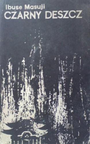 Okładka książki Czarny deszcz