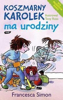 Okładka książki Koszmarny Karolek ma urodziny