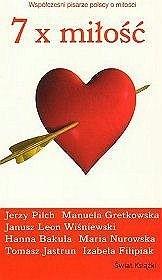 Okładka książki 7 x Miłość