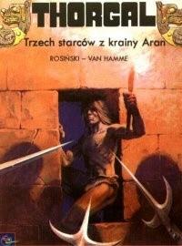 Okładka książki Thorgal: Trzech starców z krainy Aran
