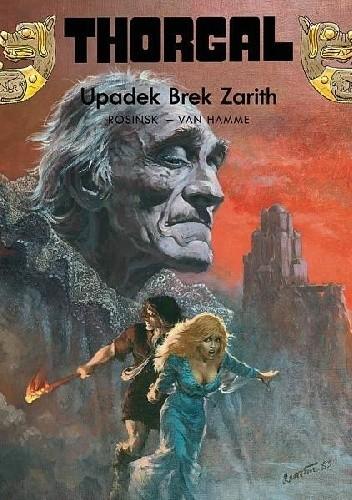 Okładka książki Thorgal: Upadek Brek Zarith
