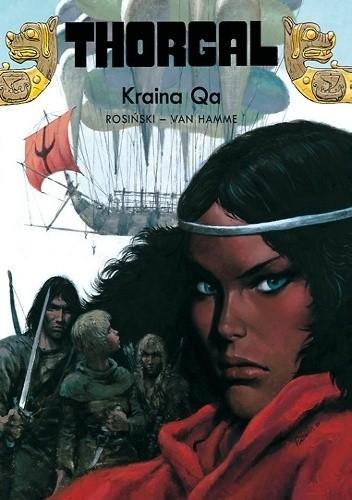 Okładka książki Thorgal: Kraina Qa