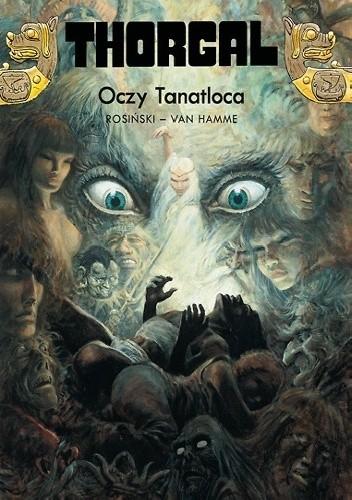 Okładka książki Thorgal: Oczy Tanatloca