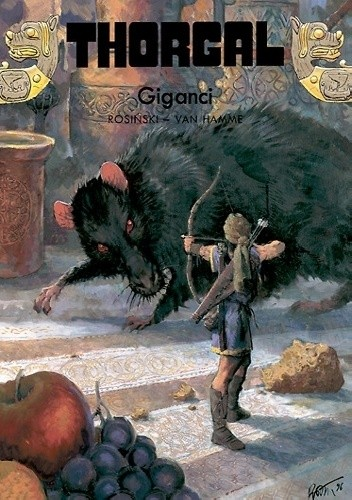 Okładka książki Thorgal: Giganci