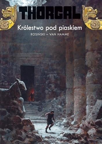 Okładka książki Thorgal: Królestwo pod piaskiem
