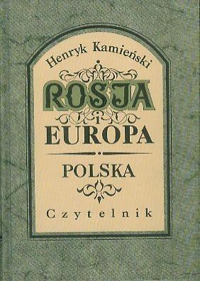 Okładka książki Rosja i Europa