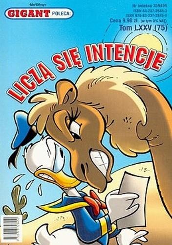 Okładka książki Gigant 02/2007: Liczą się intencje