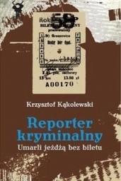 Okładka książki Umarli jeżdżą bez biletu