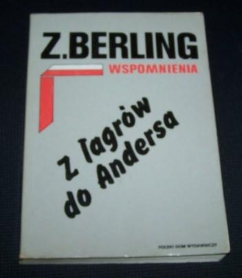 Okładka książki Wspomnienia T. 1. Z łagrów do Andersa