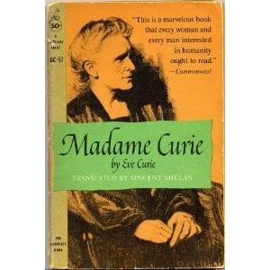 Okładka książki Maria Curie