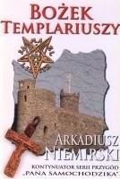 Okładka książki Bożek templariuszy