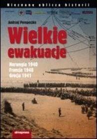 Okładka książki Wielkie ewakuacje