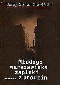 Okładka książki Młodego warszawiaka zapiski z urodzin