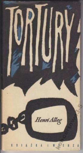 Okładka książki Tortury